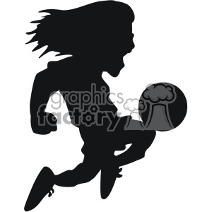 jumping soccer player vector svg cut file