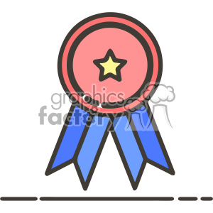 ribbon ribbons trophy award