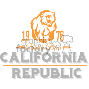 california state logo design vector art v2 clipart. Commercial use image # 403277