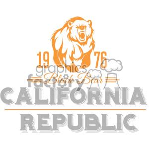 california state logo design vector art v2