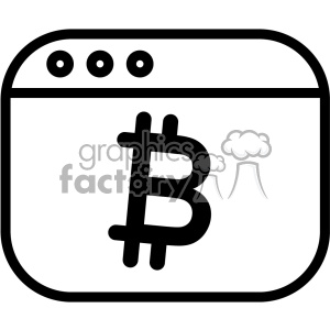 bitcoin wallet icon clipart. Commercial use image # 403830