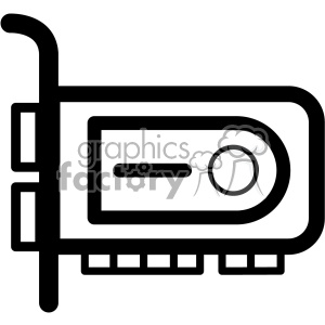 crypto mining gpu card clipart. Commercial use image # 403833