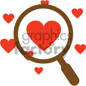 looking for love vector icon clipart. Commercial use image # 404064