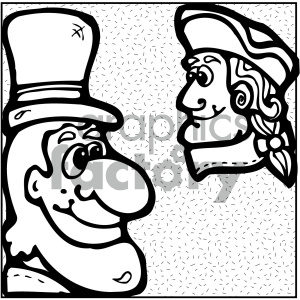 vector art politics 002 bw clipart. Commercial use image # 404710