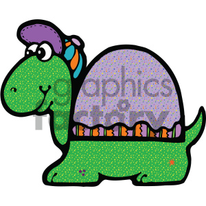 cartoon clipart turtle 009 c clipart. Royalty-free image # 404746