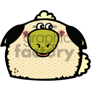 cartoon clipart gumdrop animals 004 c clipart. Royalty-free image # 404752