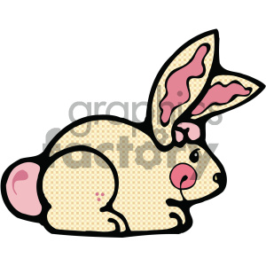 cartoon clipart bunny 004 c clipart. Royalty-free image # 404816