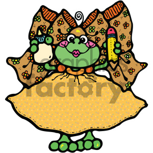 cartoon clipart frog 012 c clipart. Royalty-free image # 404926