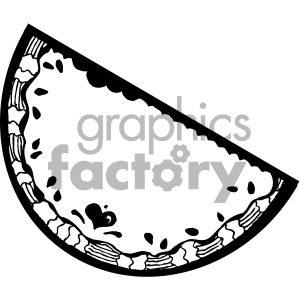 watermelon drawing clipart. Royalty-free image # 405118