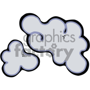 clouds art clipart. Royalty-free icon # 405208