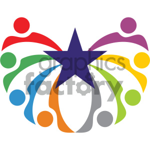 humanity social vector icon clipart. Royalty-free image # 405486