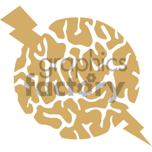 brain energy vector icon clipart. Royalty-free image # 405490