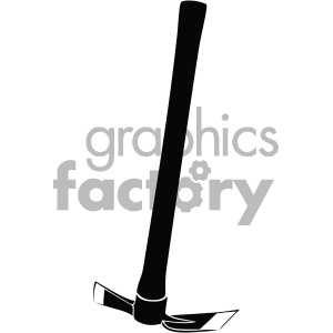 vector pickaxe icon clipart. Royalty-free image # 405507