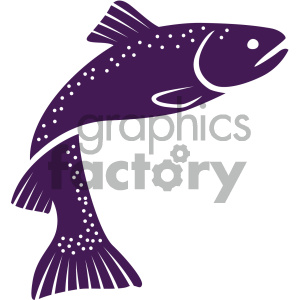vector fish icon clipart. Commercial use image # 405511