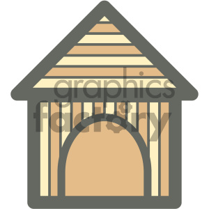 birdhouse furniture icon clipart. Royalty-free image # 405684