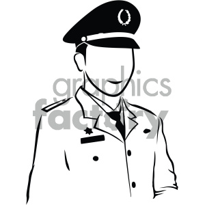 soldier vector art clipart. Royalty-free image # 405902