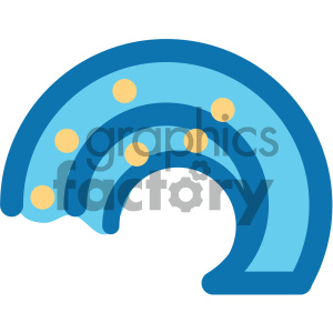 ocean wave icon clipart. Commercial use image # 405926