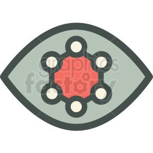 nano retina technology icon