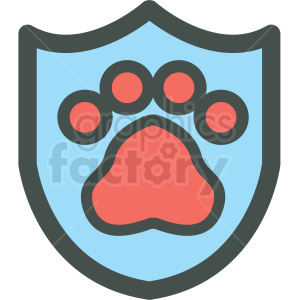dog shield paw