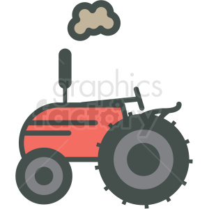 farmall tractor vector icon clipart. Royalty-free image # 406426