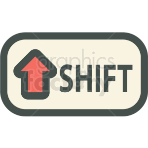 shift button