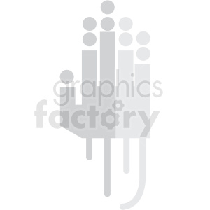 touch tracking vector icon clip art clipart. Commercial use image # 406648