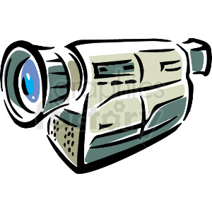 A Video Camera clipart. Royalty-free image # 156300