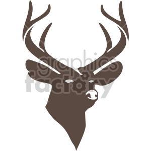 christmas reindeer icon clipart. Commercial use image # 407349