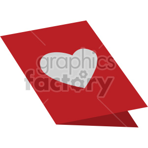 valentines card vector icon no background clipart. Royalty-free image # 407436