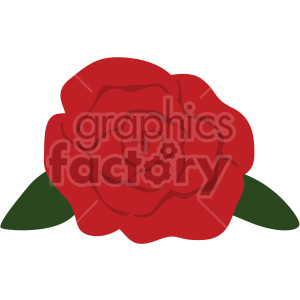 red rose vector icon no background clipart. Commercial use icon # 407499