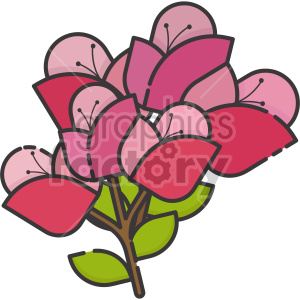 flowers clipart. Royalty-free image # 407554