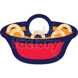 chinese new year bowl of noodles clipart. Commercial use image # 407632