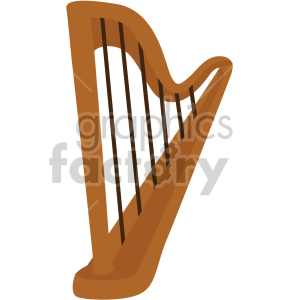st patricks day harp no background clipart. Royalty-free image # 407652