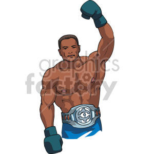 boxer clipart. Royalty-free image # 168743