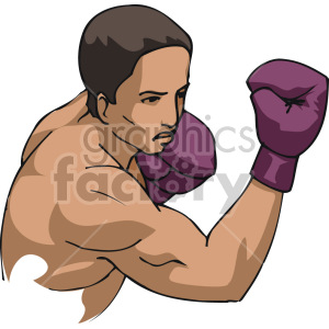 uppercut punch clipart. Royalty-free image # 168739