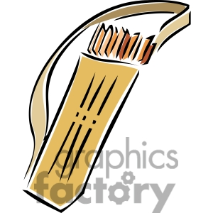 quiver of arrows clipart. Royalty-free image # 173738