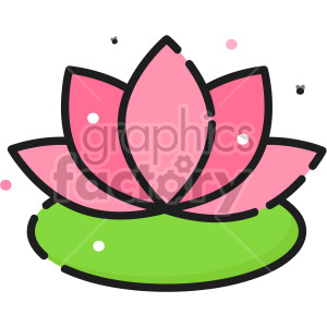 Lotus clipart. Royalty-free icon # 407936