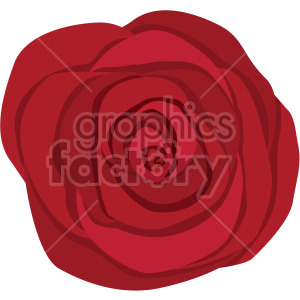 red rose clipart. Royalty-free image # 408041