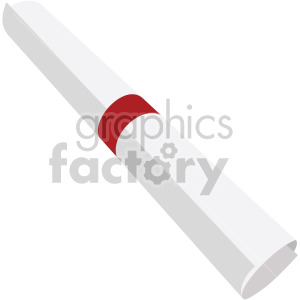 one scroll no background clipart. Commercial use image # 408099