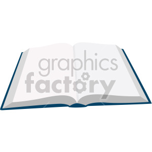 open books no background clipart. Royalty-free image # 408109
