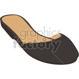 closed toe sandal clipart. Commercial use image # 408156