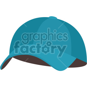 blue baseball hat no background clipart. Commercial use image # 408174