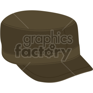 military hat no background clipart. Royalty-free image # 408187