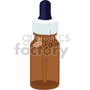 medication dropper bottle clipart. Royalty-free image # 408191
