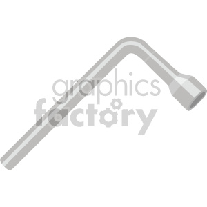 tire lug nut wrench clipart. Commercial use image # 408293