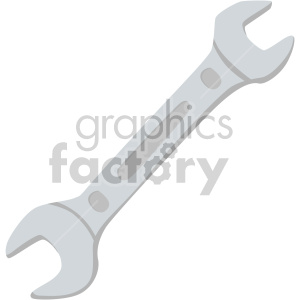 wrench clipart. Royalty-free image # 408301