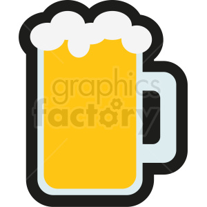 beer icon no background clipart. Royalty-free image # 408464