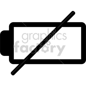 batter needs charged icon clipart. Royalty-free image # 408486
