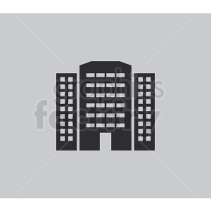 office buildings on light background clipart. Royalty-free image # 408526