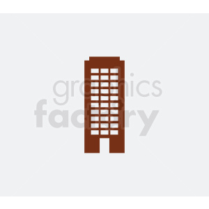 city building on gray background clipart. Royalty-free image # 408539